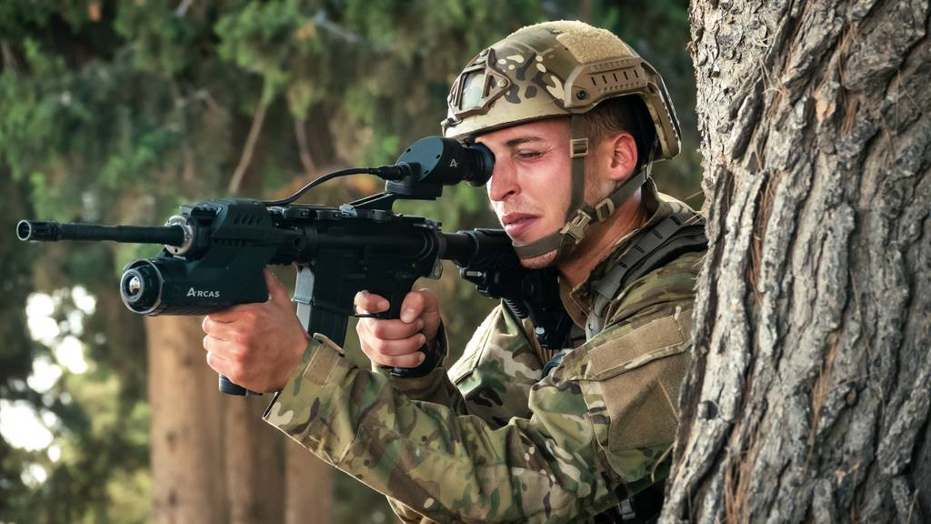 Elbit Systems artificial intelligence system for assault rifles
