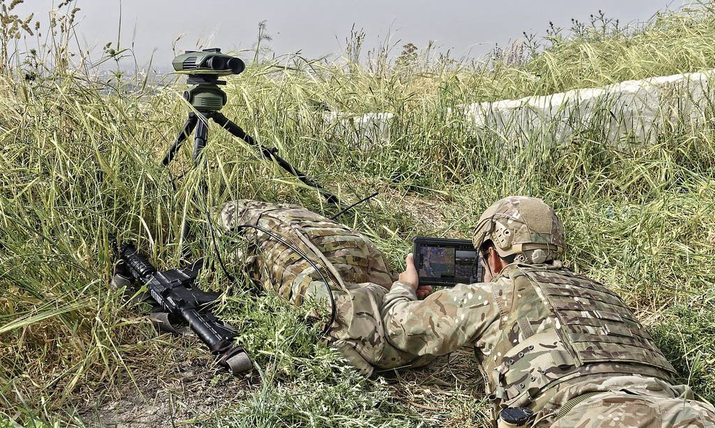 Elbit Systems DJFI solution soldier close up