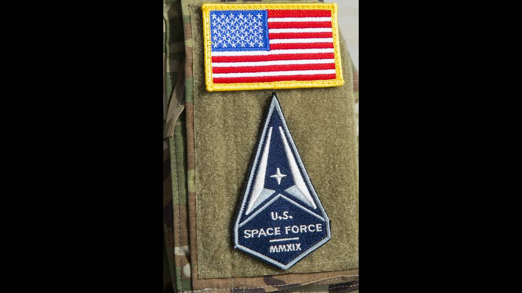 The U.S. Space Force was established on Dec. 20, 2019 and on Feb. 1, 2021, the first eight airmen assigned to the 6th Air Refueling Wing, MacDill Air Force Base, Fla., participate in a U.S. Space Force oath of enlistment ceremony in Tampa.