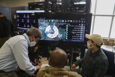 U.S. Army command and control exercise