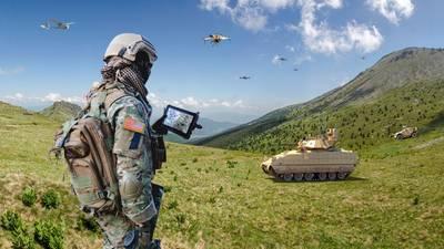 Future soldier photo illustration