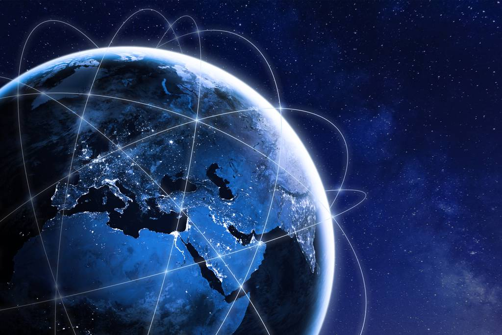 global satellite connections