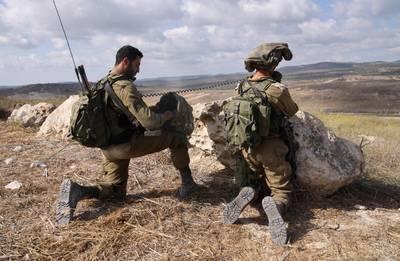 Israel military drill