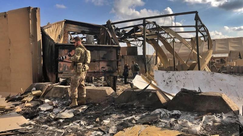 Ain al-Asad air base, Anbar, Iraq